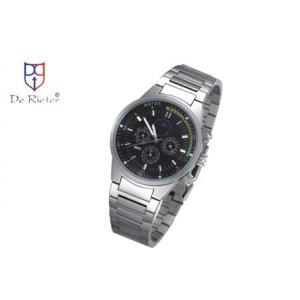 China 1 - 10 ATM waterproof stainless steel watch case band Multifunction Wrist Watch on sale