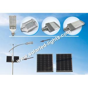 China High Power Solar LED Street Light Lead Acid Battery / Solar Street Lights For Home on sale