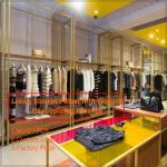 Modern retail clothing apparel store interior design