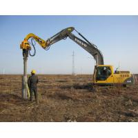 Sheet Pile hammers (used with excavators to press piles)