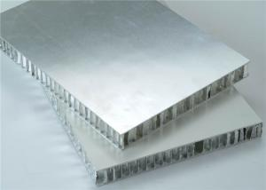 China Aluminum Honeycomb Panels For Metal Roofing WIth PVDF/PE Coating Max. Width 2300mm on sale