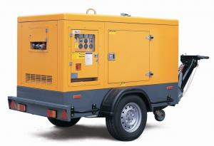 China 48KW Trailer Mounted Diesel Generator , 4 Stroke 4 Cylinder PERKINS Silent Generator on sale