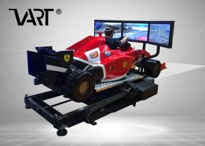 China 9D Virtual Reality F1 Driving Simulator With Project Car Racing Game For Entertainment on sale