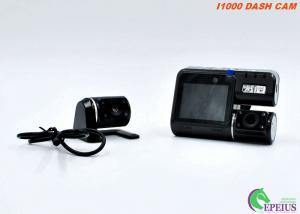 China Night Vision Car Camera With 170 Degree Width Angle , Dual Lens Car Recording Camera  on sale
