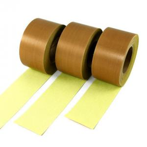 China Insulation High Temp Fiberglass Tape / Heat Resistant PTFE Glass Cloth Tape on sale
