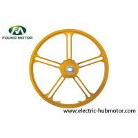 Brushless 250W Electric Bicycle Hub Motor Magnesium Alloy Shining Color