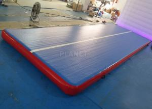China Durable Inflatable Gymnastics Air Floor Cheerleading Inflatable Mat For Training on sale
