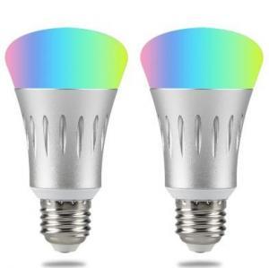 China Adjustable Brightness Smart Wifi LED Bulb Alexa Google Control RGB Bulb on sale