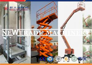 China 3.3kw Hydrualic Lifting Equipment , Self Propelled Scissor Lift Platform on sale