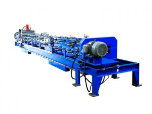 China Auto Change Size C Purlin Roll Forming Machine , Steel Frame Forming Machine on sale