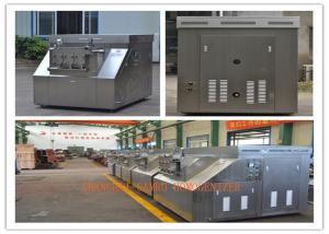 China Oil / silicone emulsion homogenizer Manual Operating Homogenization on sale