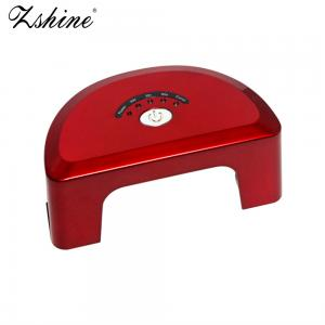 China Semi Round Shape 6W 12W Mini LED Nail Lamp DIY Nails Dryer for Home Use on sale