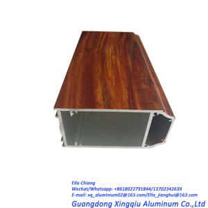 China 6063 T5 T6 Aluminium Profile for window door and curtain wall on sale