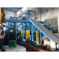 Eco Friendly Waste Tyre Recycling Machine For Crushing Rubber / Tyre 500Kg/H Capacity