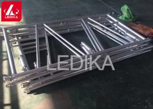 China Protable Folding Lighting Truss Folding Aluminium Stage Truss In Triangular Shape on sale