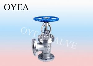 China ANSI GB Forged Steel Angle Globe Valve on sale