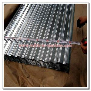 China Corrugated Profile Roof Sheet SGCC SGCH Galvanised Iron Corrugation Roofing Sheet on sale