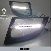 Renault Megane III DRL LED Daytime Running Lights car light replacements