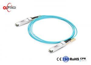 China 5m SFP Optical Transceiver Active Optical Cable Data Transmission 7.5mm Minimum Bend Radius on sale