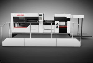 China [HRB-1300] Semi Automatic Creasing And Die Cutting Machine on sale