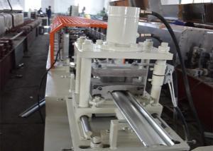 China Zinc Coated Steel Shutter Making Equipment / Rolling Shutter Making Machine on sale