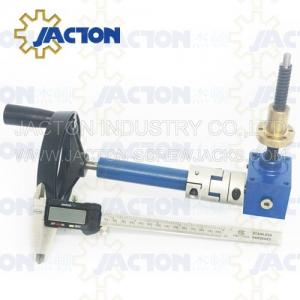 China Worm gear operated jack for solar tracker SWL series swivel base screw jack Deft design leveling screw jacks made China on sale