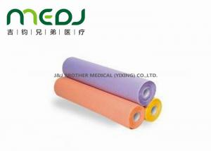 China Corrugated Examination Bed Paper Roll Disposable Paper And PE Film Material on sale
