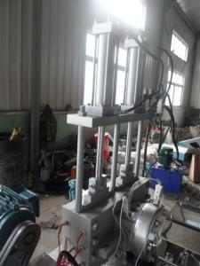 China PP Two Step Recycled Spaghetti Plastic Granules Machine / Raffia Pellet Extruder on sale
