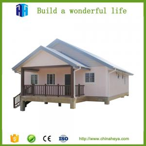 China easy construction low cost light steel structure villa house construction on sale