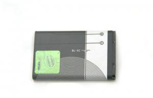 China BL-5C 1020MAH Lithium Nokia Cell Phone Batteries For N72 3208C 6316S / 7200 / 7270 on sale