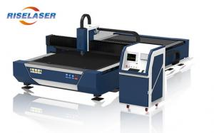 China High Accuracy Industrial Laser Cutting Machine 1000W For Carbon Steel Cutting on sale