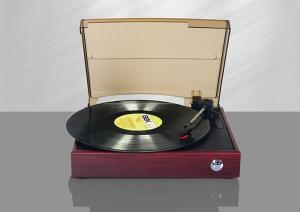China Classic Vinyl Player Record Player Turntable Gramophone with Vinyl Play LP Play Music Record Function on sale