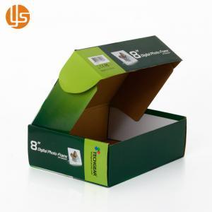 China Corrugated Paper Printed Shipping Boxes Custom Size Laminate Finishing on sale