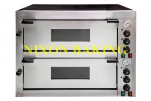 China Nixon commercial kitchen equipment electric pizza baking oven for pizza restaurant PE6 on sale