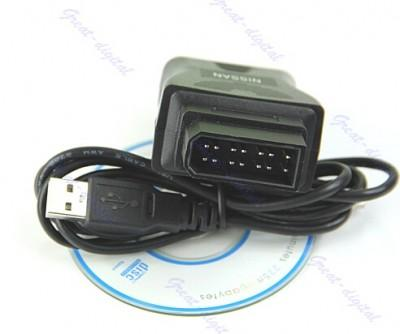 china OEM For Nissan Consult OBD 14pin to USB Diagnostic