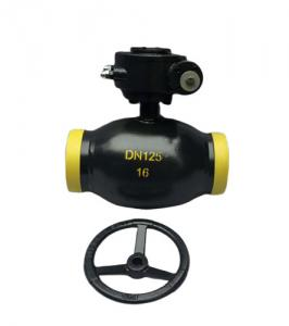 China Industrial Gas Fully Welded Ball Valve Sw Bw Flange No External Leakage on sale
