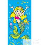 Beautiful Promotional Products Beach Towels Cartoon Design Printing For Children