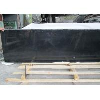 Outdoor Black Polished Granite Floor Tiles , Supreme Large Granite Slabs