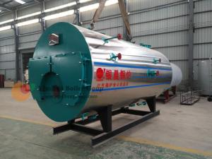 China Commercial Oil Fired Boilers Fire Tube Oil Hot Water Boiler Heating System on sale
