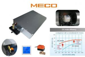 China Commercial Building Ceiling Concealed Fan Coil Unit 200CFM Quiet Operation on sale