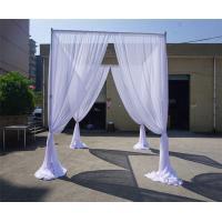 portable aluminium  pipe and drape chiffion wedding tent
