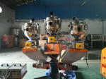 High Capacity Double Screw Volumetric Dosing Unit For Extruder 12 - 20 mm