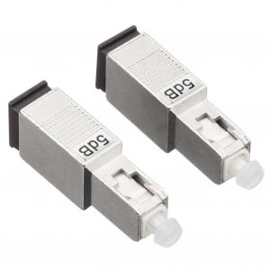 China 20dB Fiber Optic Attenuator SC/PC Fixed Wavelength Independent For Data Networks on sale