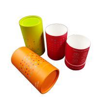 China Wholesale Custom Printing Cardboard Paper Round Gift Cylinder Box on sale