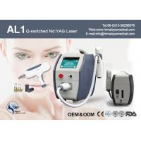 Touch Screen 10 HZ Nd Yag Laser Tattoo Removal Equipment For Medical Hospital