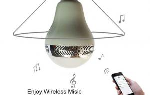 China Warm white / cold white LED Light with Wireless Speaker and bluetooth connection 5W on sale