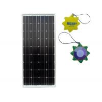 China 90W PV Solar Panels Durable Metal Frame Charging For Traffic Light Battery on sale