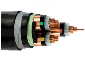 China Copper Clad Aluminum Steel Tape Armoured Cable 3 x 185 sq mm Eco Friendly on sale