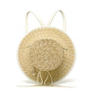 China New fashion Backpack bag women bag cute Japanese-style straw hat on sale