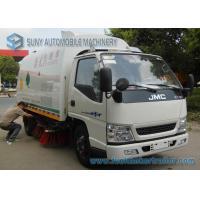 JMC Light Duty Road Sweeper Truck 4000L 1500KG Vacuum Street Sweeper
